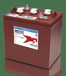 6, 8 og 12 Volt traktionsbatterier
